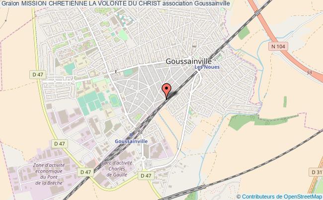 plan association Mission Chretienne La Volonte Du Christ Goussainville