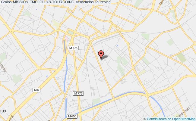 plan association Mission Emploi Lys-tourcoing