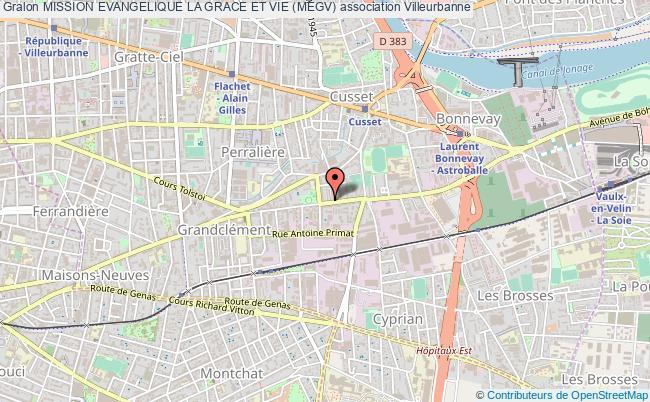 plan association Mission Evangelique La Grace Et Vie (megv)