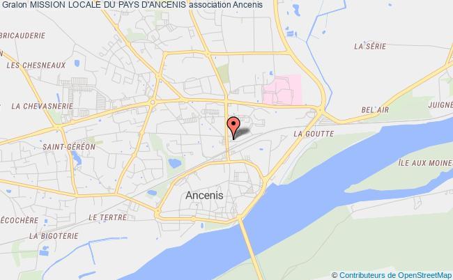 plan association Mission Locale Du Pays D'ancenis