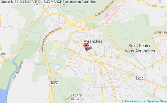 plan association Mission Locale Du Sud Manche