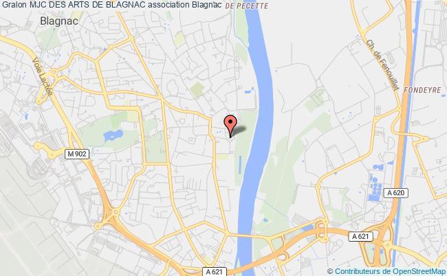 plan association Mjc Des Arts De Blagnac