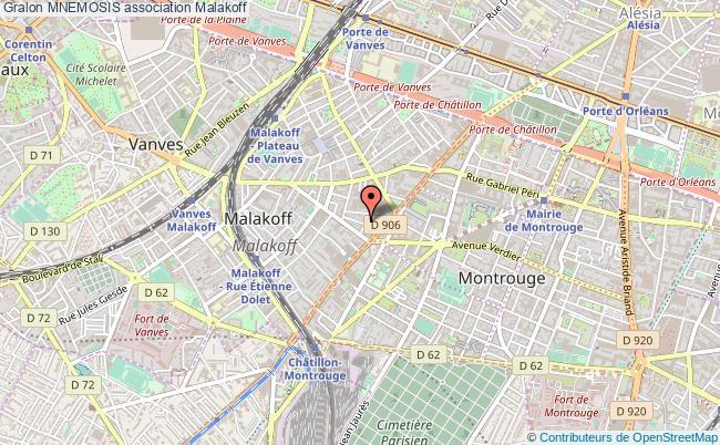 plan association Mnemosis Malakoff
