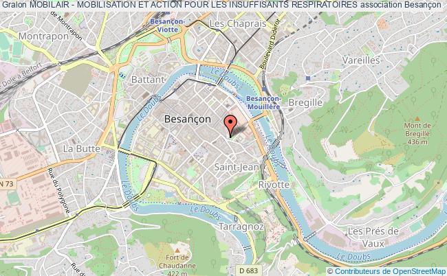 plan association Mobilair - Mobilisation Et Action Pour Les Insuffisants Respiratoires