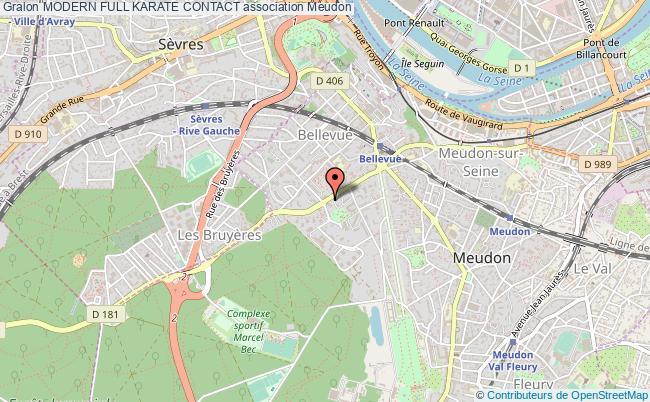 plan association Modern Full Karate Contact