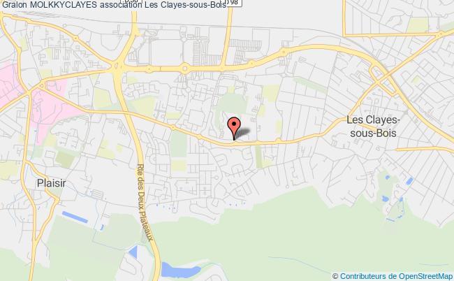 plan association Molkkyclayes Les   Clayes-sous-Bois
