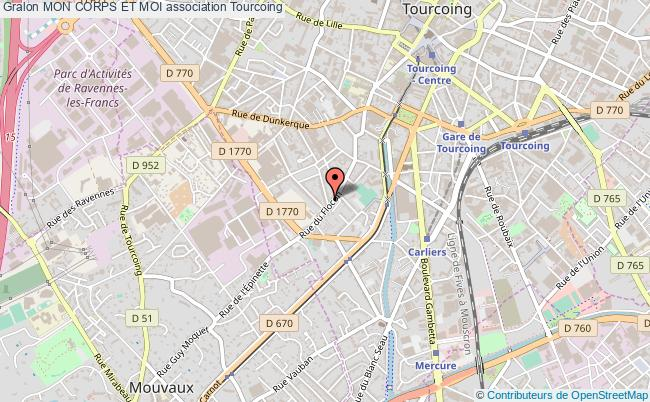 plan association Mon Corps Et Moi Tourcoing