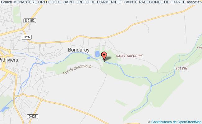 plan association Monastere Orthodoxe Saint Gregoire D'armenie Et Sainte Marie D'egypte