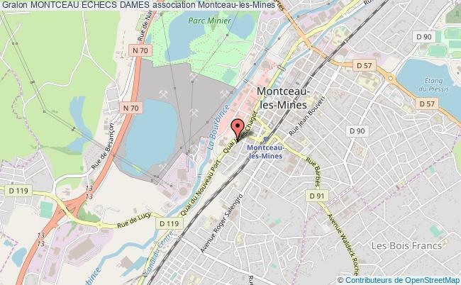 plan association Montceau Echecs Dames
