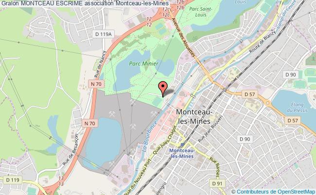 plan association Montceau Escrime