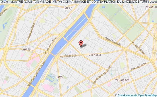 plan association Montre Nous Ton Visage (mntv) Connaissance Et Contemplation Du Linceul De Turin Paris