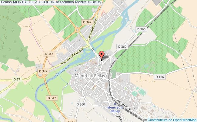 plan association Montreuil Au Coeur Montreuil-Bellay