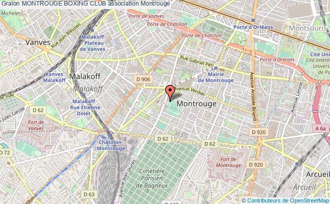 plan association Montrouge Boxing Club