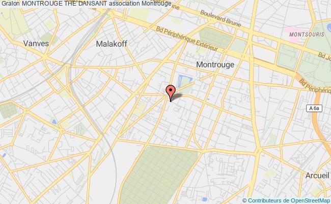 plan association Montrouge The Dansant Montrouge
