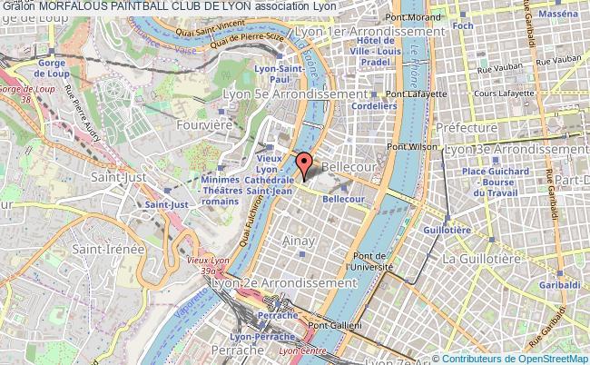 plan association Morfalous Paintball Club De Lyon