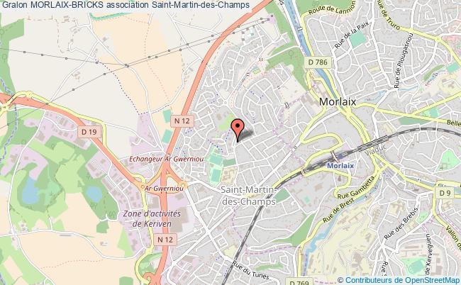 plan association Morlaix-bricks Saint-Martin-des-Champs