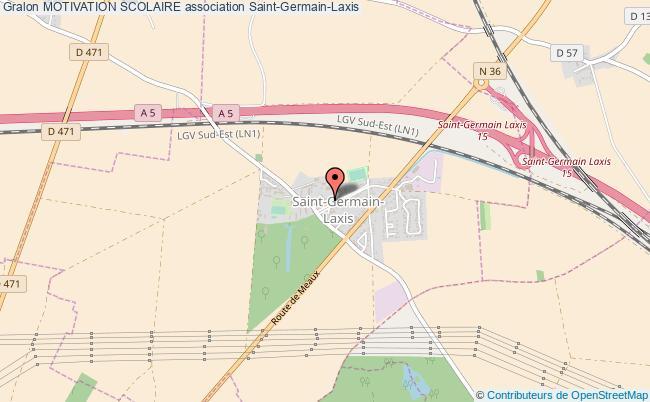 plan association Motivation Scolaire Saint-Germain-Laxis