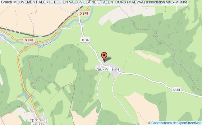 plan association Mouvement Alerte Eolien Vaux-villaine Et Alentours (maevva)