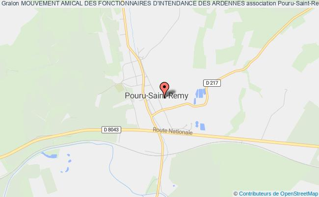 plan association Mouvement Amical Des Fonctionnaires D'intendance Des Ardennes