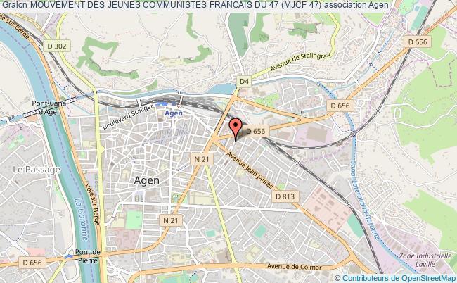plan association Mouvement Des Jeunes Communistes Francais Du 47 (mjcf 47)