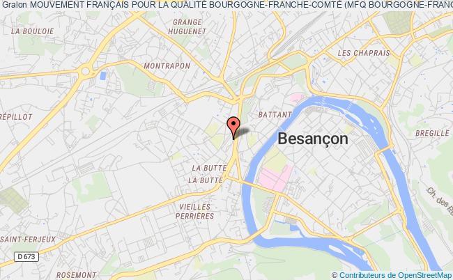 plan association Mouvement FranÇais Pour La QualitÉ Bourgogne-franche-comtÉ (mfq Bourgogne-franche-comtÉ)