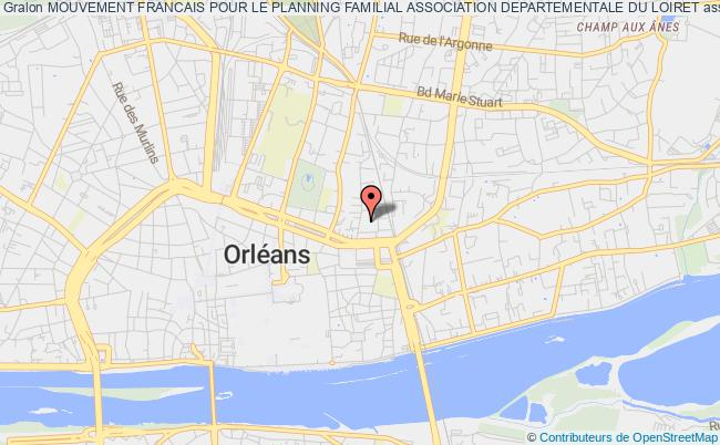 plan association Mouvement Francais Pour Le Planning Familial Association Departementale Du Loiret