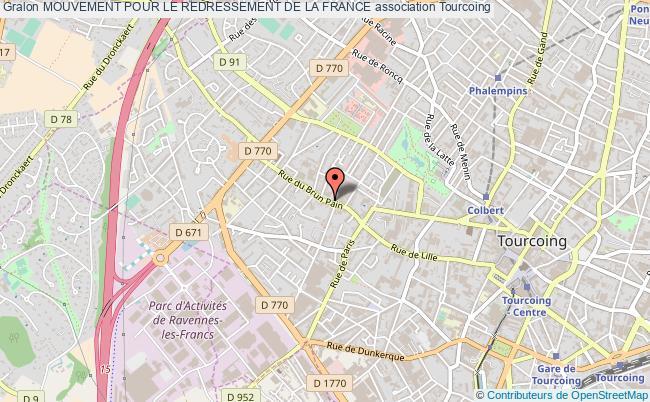 plan association Mouvement Pour Le Redressement De La France