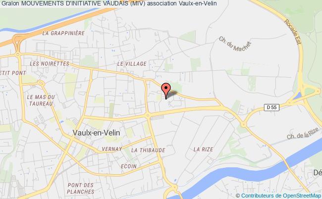 plan association Mouvements D'initiative Vaudais (miv)