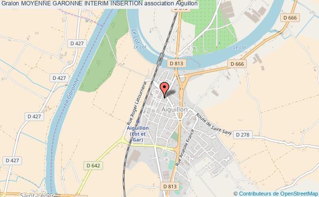 plan association Moyenne Garonne Interim Insertion