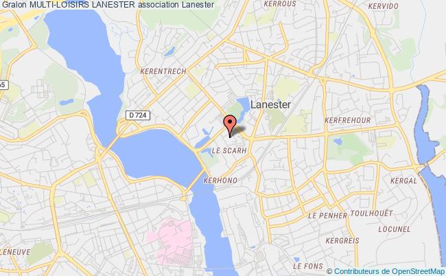 plan association Multi-loisirs Lanester