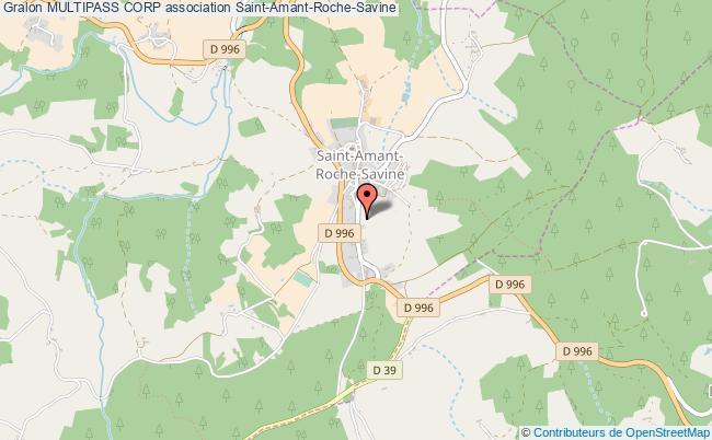 plan association Multipass Corp Saint-Amant-Roche-Savine