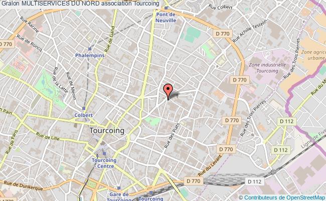 plan association Multiservices Du Nord Tourcoing