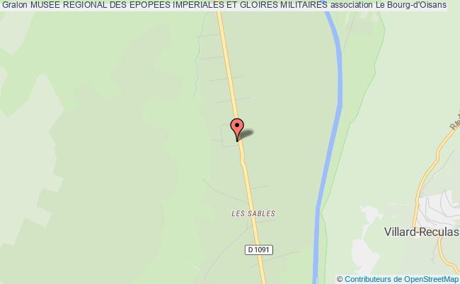 plan association Musee Regional Des Epopees Imperiales Et Gloires Militaires Le    Bourg-d'Oisans