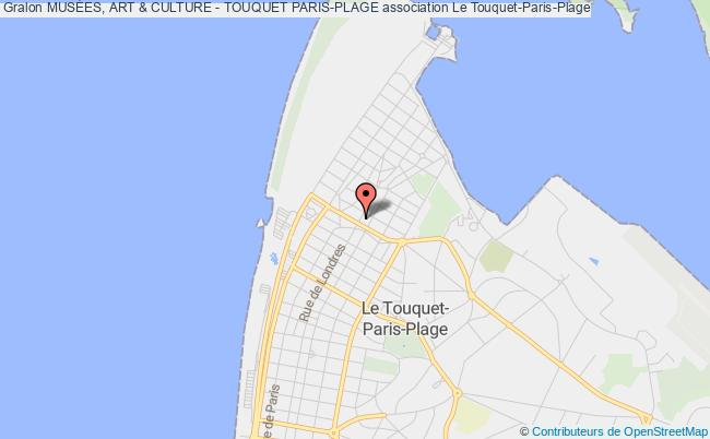 plan association MusÉes, Art & Culture - Touquet Paris-plage le Touquet-Paris-Plage
