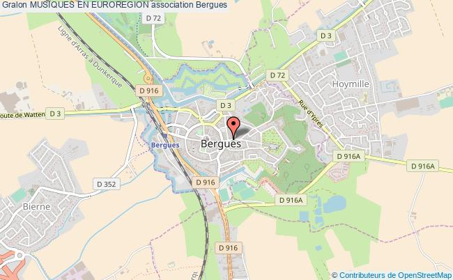 plan association Musiques En Euroregion Bergues