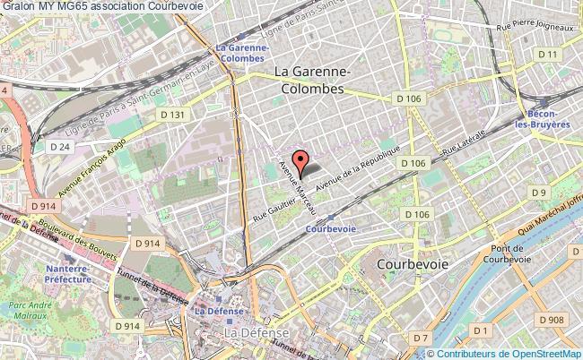 plan association My Mg65 Courbevoie