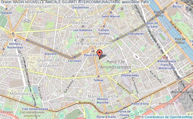 plan association Nagin Nouvelle Amicale Gujrati Intercommunautaire