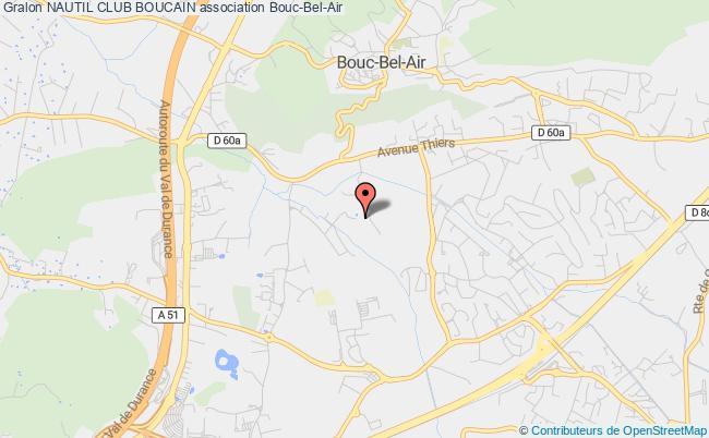 plan association Nautil Club Boucain