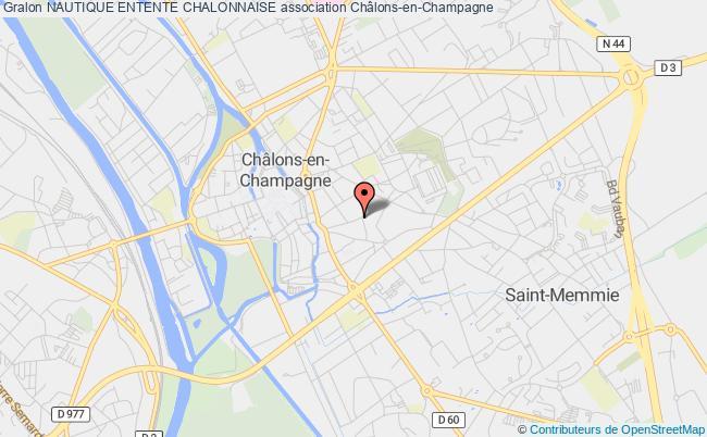 plan association Nautique Entente Chalonnaise