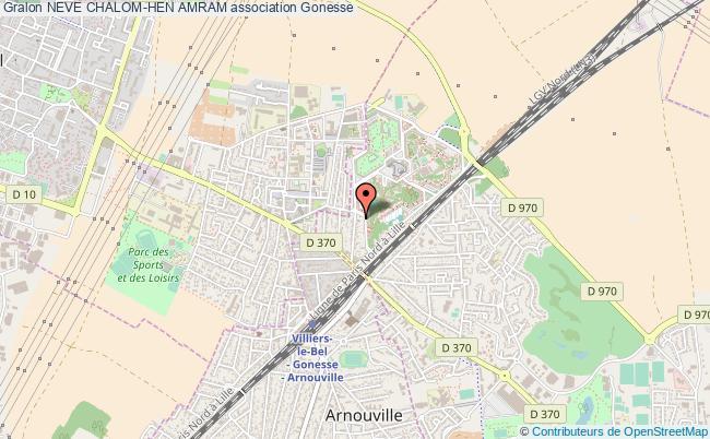plan association Neve Chalom-hen Amram Gonesse
