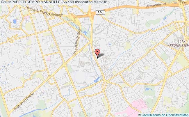 plan association Nippon Kempo Marseille (ankm) Marseille 4