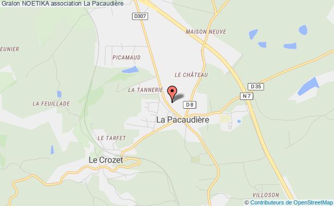 plan association Noetika La    Pacaudière