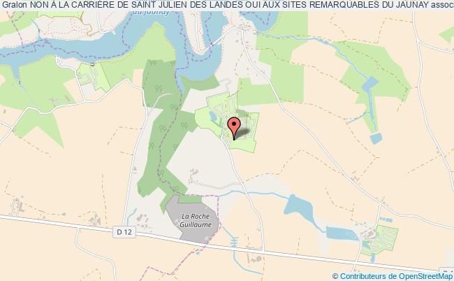 plan association Non À La CarriÈre De Saint Julien Des Landes Oui Aux Sites Remarquables Du Jaunay Saint Julien Des Landes