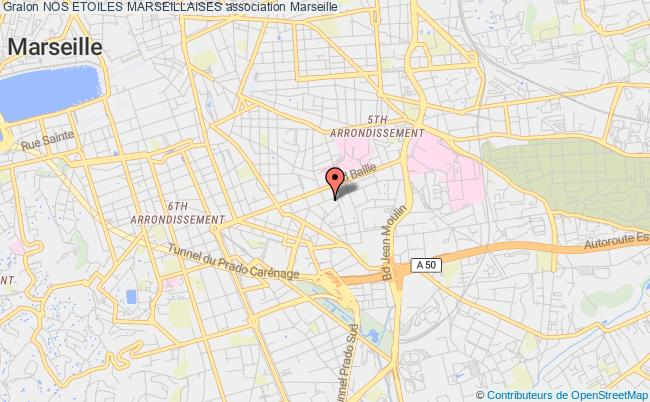 plan association Nos Etoiles Marseillaises