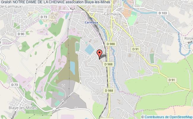 plan association Notre Dame De La Chenaie