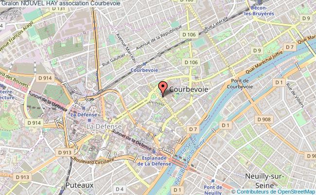 plan association Nouvel Hay Courbevoie
