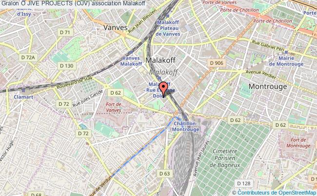 plan association O Jive Projects (ojv) Malakoff