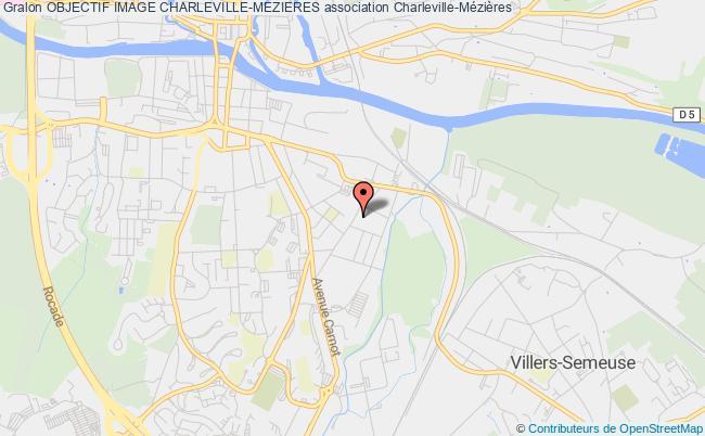 plan association Objectif Image Charleville-mezieres