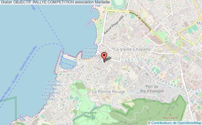 plan association Objectif Rallye Competition
