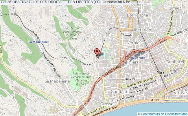 plan association Observatoire Des Droits Et Des Libertes (odl)